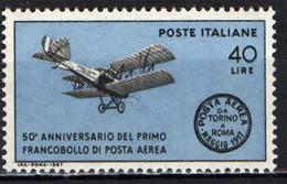 ITALIA - 1967 - CINQUANTENARIO DEL PRIMO FRANCOBOLLO DI POSTA AEREA - MNH - 1961-70: Ungebraucht