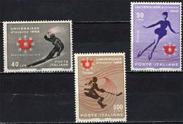 ITALIA - 1966 - UNIVERSIADI D'INVERNO - MNH - 1961-70: Ungebraucht