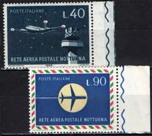 ITALIA - 1965 - INAUGURAZIONE DELLA RETE AEREA POSTALE NOTTURNA - MNH - 1961-70: Ungebraucht