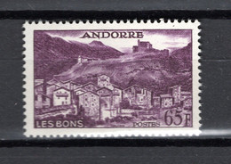 ANDORRE N° 152A    NEUF SANS CHARNIERE COTE 14.00€   PAYSAGE LE HAMEAU DES BONS  VILLE - Ungebraucht