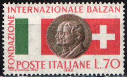 ITALIA - 1962 -  1^ PREMIAZIONE DELLA FONDAZIONE INTERNAZIONALE BALZAN - MNH - 1961-70: Ungebraucht