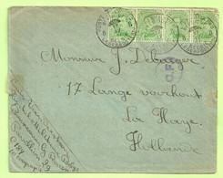 137 Op Brief HOPITAL MILITAIRE BELGE BONSECOURS ROUEN, PMB 8 Op 17/4/17, Naar La Haye,+C.F (Folkestone)(A16 - Army: Belgium