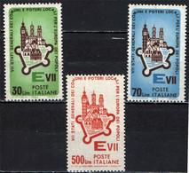ITALIA - 1964 - 7' STATI GENERALI DEI COMUNI E POTERI LOCALI PER L'EUROPA DEI POPOLI - MNH - 1961-70: Ungebraucht