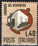 ITALIA - 1965 - GIORNATA DEL RISPARMIO - MNH - 1961-70: Ungebraucht