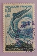 FRANCE YT 1484 CACHET ROND  ANNÉE 1966 - Gebraucht