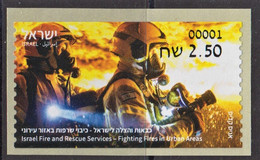 16.- ISRAEL 2021 ATM Firefighting & Rescue Extinguishing Fires In An Urban Area - Firemen