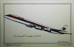 ► 1958  Aircraft  DOUGLAS DC 8-6  ( United Airlines ) - 1946-....: Modern Era