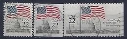 USA  1985  Flag + Capital  (o) Mi.1738-1739 - Gebraucht