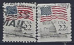 USA  1985  Flag + Capital  (o) Mi.1738  A+C - Gebraucht
