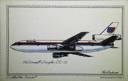 ► 1970  Aircraft  McDonnell-Douglas DC-10  ( United Airlines ) - 1946-....: Modern Era