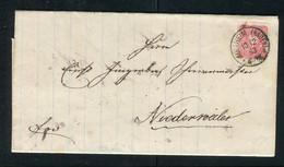 """Deutsches Reich / 1883 / Brief K1-Stempel """"MUELLHEIM (BADEN)"""" (5167) - Briefe U. Dokumente"""
