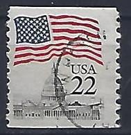 USA  1985  Flag + Capital  (o) Mi.1738  C - Gebraucht