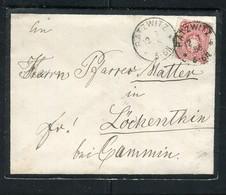 """Deutsches Reich / 1886 / Brief K1-Stempel """"BATZWITZ"""" (5168) - Briefe U. Dokumente"""