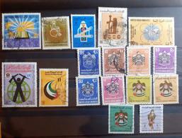 EMIRATI ARABI UNITI LOTTO USATI - United Arab Emirates (General)