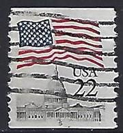 USA  1985  Flag + Capital  (o) Mi.1738  C  Pl. Nr. 5) - Gebraucht