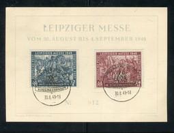 "SBZ / 1949 / Mi. 240/241 ""Leipziger Messe"" FDC (5171) - Sowjetische Zone (SBZ)"