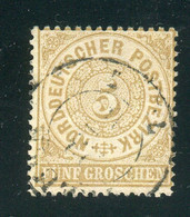 NDP / Mi. 18 Gestempelt (5173) - Norddeutscher Postbezirk