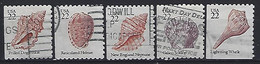 USA  1985  Seashells  (o) Mi.1741-1745 - Gebraucht