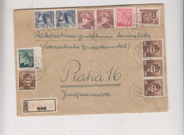 CZECHOSLOVAKIA  1945 OPAVA Registered Cover - Covers & Documents