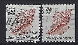 USA  1985  Seashells  (o) Mi.1743  Dl+Dr - Gebraucht
