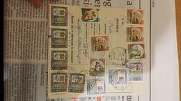 Mod.267 Con Alti Valori E Castelli (affr.fronte E Retro) - 1991-00: Poststempel