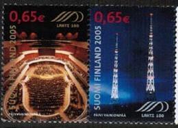 2004 Finland Stamp Pairs, Michel 1733-4 ** Lahti. - Ungebraucht
