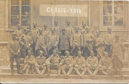 1917 Carte Photo écrite CLASSE - 1918 - Personen