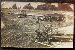 WWI France Hotchkiss Machine Gun Tech Detail Photo Postcard RPPC - Ausrüstung