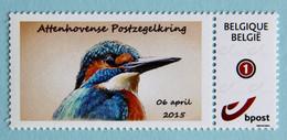 Martin Pêcheur   Attenhovense Postzegelkring     Zelfklevend - 1985-.. Vögel (Buzin)