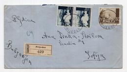1943. WWII BOSNIA AND HERCEGOVINA,NDH,PRIJEDOR TO BULGARIA,SOFIA - Bosnia And Herzegovina