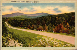California Greetings From Lompoc 1942 - Other