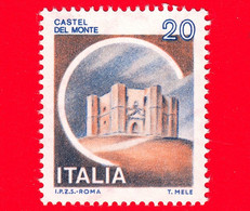 Nuovo - MNH - ITALIA - 1980 - Castelli D'Italia - Castel Del Monte, Ad Andria - 20 - 1971-80: Ungebraucht