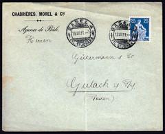 Switzerland Basel 1911 / Sitting Helvetia 25 - Lettres & Documents