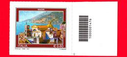 Nuovo - MNH - ITALIA - 2012  - Turismo - 0,60 - Maiori - Cod A Barre 1476 - Bar-code
