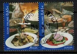 2005 Finland Europa Cept, Fine Stamped Pair. - Gebraucht
