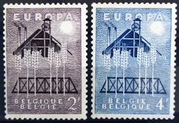 BELGIQUE                    N° 1025/1026      EUROPA                      NEUF** - Ungebraucht