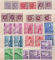 A5955 MAURITIUS,  Small Lot Of 28 Used KGVI Stamps - Mauritius (...-1967)