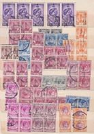 H0035 MALAYA STATES, Lot Of 320+ Used JGVI Stamps A - Unclassified