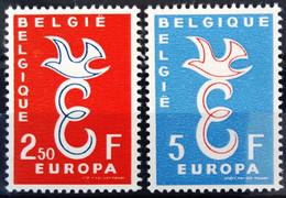 BELGIQUE                    N° 1064/1065      EUROPA                      NEUF** - Ungebraucht
