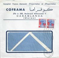 """Motiv Brief  """"Coframa Comptoir Franco-Marrocain Import/Export, Casablanca""""            1960 - Briefe U. Dokumente"""