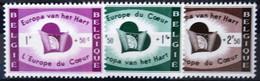 BELGIQUE                    N° 1090/1092      EUROPA                      NEUF* - Ungebraucht