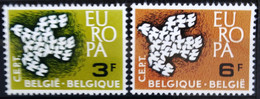 BELGIQUE                    N° 1193/1194     EUROPA                      NEUF** - Ungebraucht