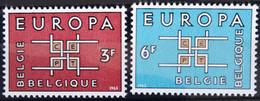 BELGIQUE                    N° 1260/1261     EUROPA                      NEUF** - Ungebraucht