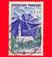 FRANCIA - Usato - 1960 - Turismo - Reunion - Chiesa Di Cilaos - Massif Du Gran Bénard - 1 - Gebraucht