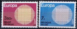 BELGIQUE                    N° 1530/1531     EUROPA                      NEUF** - Ungebraucht