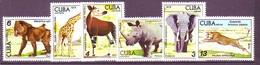 Cuba 1978 MiNr. 2347 - 2352  Kuba  Animals ZOO   6v  MNH** 6,00 € - Unused Stamps