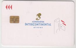 GREECE Hotel Keycard - ATHENAEUM INTERCONTINENTAL ATHENS ,used - Hotel Keycards