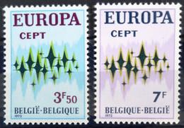 BELGIQUE                    N° 1623/1624     EUROPA                      NEUF** - Ungebraucht