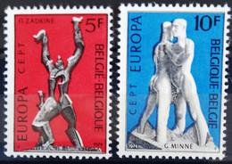 BELGIQUE                    N° 1707/1708     EUROPA                      NEUF** - Ungebraucht