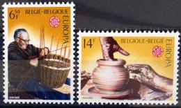BELGIQUE                    N° 1800/1801     EUROPA                      NEUF** - Ungebraucht